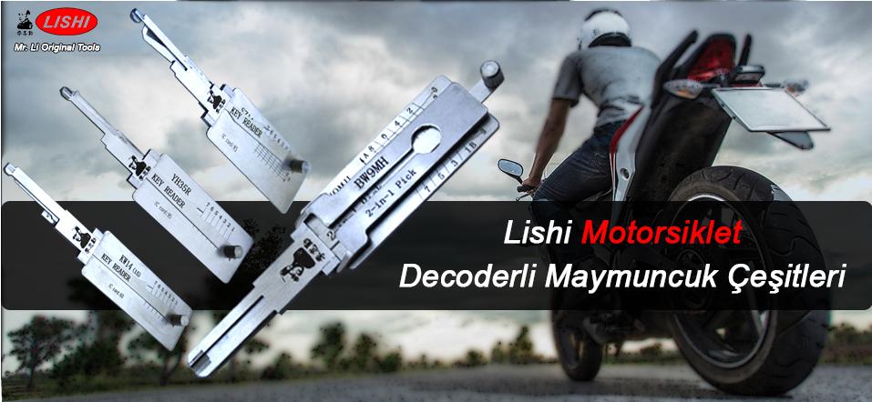 Lishi Motorsiklet Maymuncuk